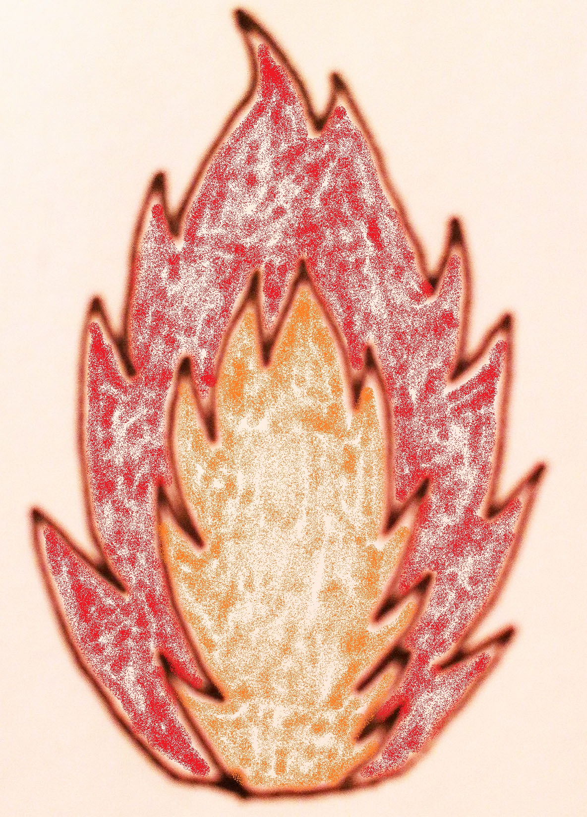 天候すら左右する存在。燃え盛る炎で表現されるほど熱い男がいるという衝撃